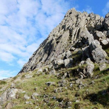 Grooved Arete, Scafell Pike